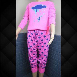 Xhilaration Storm Day Pajama Set Size Small & Med.